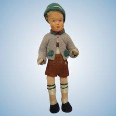 Vintage Erna Meyer Boy Dollhouse Doll