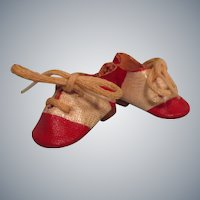 Vintage 1950s Mary Hoyer Doll Shoes