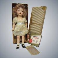 "Vintage Effanbee 1950s ""Honey"" Doll All Original in Box"