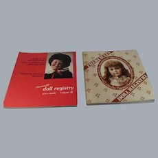Theriault's Doll Registry Catalogues Lot of 2