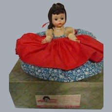 """Vintage 1950s Madame Alexander """"Jo"""" Little Women Doll in Box"""