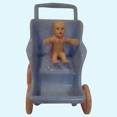 Vintage Renwal Baby Stroller