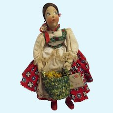 Vintage Ilse Ludecke German Cloth Doll 1940s