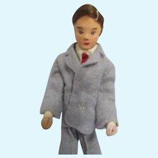 Vintage Erna Meyer Father Dollhouse Doll