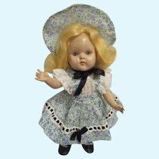 """Rare Vogue 1950 Strung Ginny """"Edie"""" Doll All Original"""