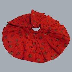 Vintage Madame Alexander Cissette Tagged Red Skirt