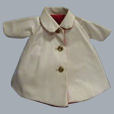 Vintage Madame Alexander Cissette White Coat