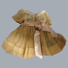 Vintage Madame Alexander Cissette Tagged Dress