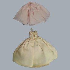 Vintage Madame Alexander Cissette Formal Gown & Slip Ensemble