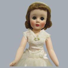 "Vintage 1958 American Character 20"" Toni Bride Doll"