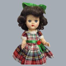 Vintage 1950s Ginger Doll in Tagged Original Outfit