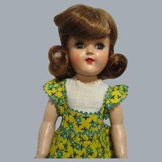 "Vintage Ideal 1950s P-91 ""Toni"" Doll All Original"