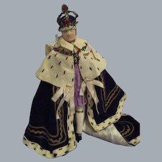 "Vintage Liberty of London ""King George"" Doll All Original"