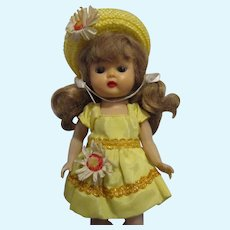 Vintage 1950s MLW Muffie Doll Original Outfit