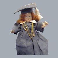 Vintage 1930s Composition Madame Alexander Tiny Betty Graduate