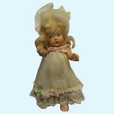Vintage Vogue Toddles Doll 1945-1949 All Original