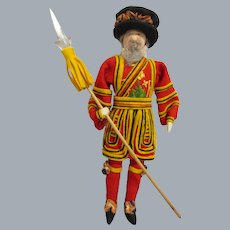 """Vintage Liberty of London """"Yeoman Of The Guard"""" All Original"""