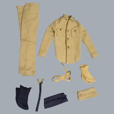 """Vintage Mattel Ken 1963  """"Army and Air Force"""" Outfit #797"""