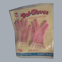 Vintage HTF 1950's Cissy Gloves MIP