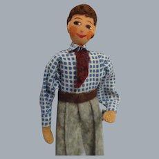 Vintage Rare German Baps Man/Father Doll