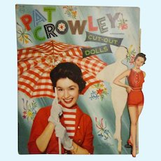 "1955 Vintage ""Pat Crowley"" Paper Doll Set"