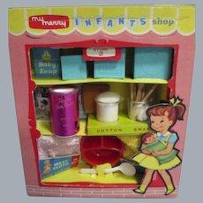 "Vintage 1950's My Merry ""Infants Shop"" Toy Set"