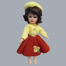 Vintage 1950s Little Miss Ginger All Original Tagged Outfit