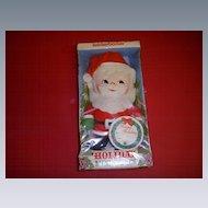 Cloth Santa NRFP by Knickerbocker 1973!