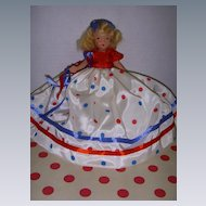 """Nancy Ann Storybook Doll Bisque """"A Very Independent Lady for July""""!"""