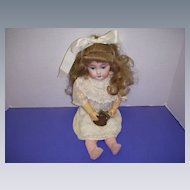 Vintage Leather Coin Purse for A Doll!