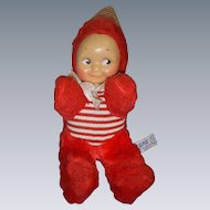 Vintage Plush Kuddle Kewpie by Knickerbocker!