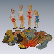 "1954 Vintage ""Blondie"" Paper Doll Set!"