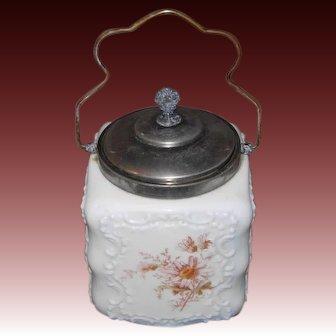 Wave Crest Biscuit Jar