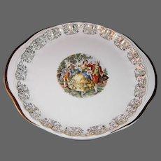 Homer Laughlin or Atlas New York-Colonial Couple Platter