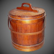 Antique Firkin