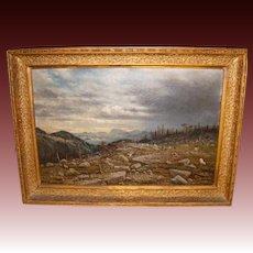 John Olson Hammerstad (1842-1925) Oil on Canvas