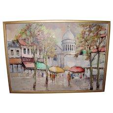 Sacre′-Coeur Basilica, Paris Oil Painting