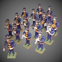 15 Piece Pottery Marching Band