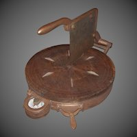 19th Century Country General Store Counter Top Cheese Cutter