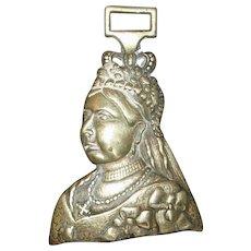 Queen Victoria Bust Horse Brass