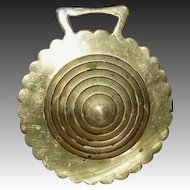 Rosette/Bee Hive Shaped Horse Brass