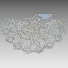 Vintage 2 Piece Crocheted Chemise/Camisole Yoke and Modesty Panel