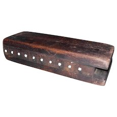 Primitive Wooden Cigar Mold