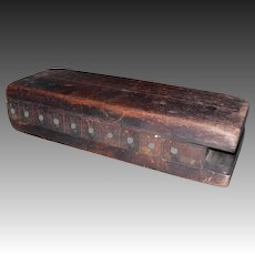 Primitive Wooden Cigar Mold
