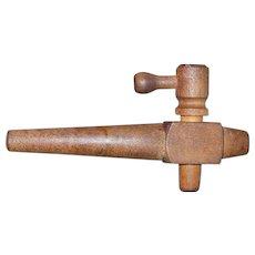 Vintage Wooden Keg/Barrel Tap