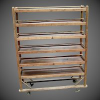 Vintage Industrial Shoe Rack