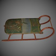 19th Century Childs Sled