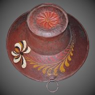 19th Century Tole Painted Barber-Surgeon's Bowl