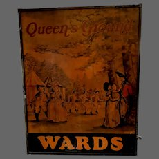 Wards Queens Ground Tavern Sign