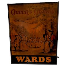 Wards Queens Ground Tavern Sign